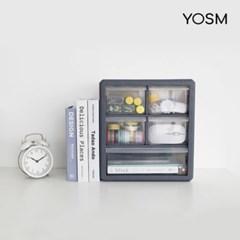YOSM 조립식 큐브 정리박스 다용도 수납정리함