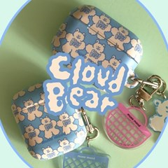 [뮤즈무드] cloud bear airpods case (하드에어팟케이스)