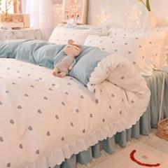 (위블) 침구 매트리스 침대 이불 베개 매트 커버 세트