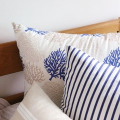 푸른산호 베개커버(디자인3종)