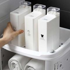 1+1 사각세탁세제 소분용기1000ml