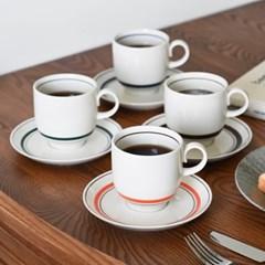 카네수즈 스노우 커피잔+받침 2P세트_(1931111)