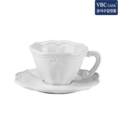 VBC까사 인칸토 티컵/소서 세트 바로크 12cm