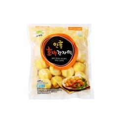 직판 밀원본가 강원도 안흥 감자떡 호박 600g 약20개
