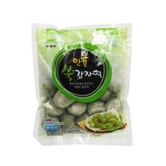 직판 밀원본가 강원도 안흥 감자떡 쑥 600g 약20개