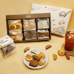 에이쿠키 6종 쿠키 선물 세트 (쇼핑백포함)_(2081819)