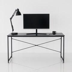 모노 1500 블랙 책상 학생 데스크 1인용 컴퓨터