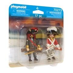 플레이모빌 듀오팩-해적과 해군(70273)