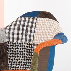 패브릭 퀄팅 커피숍 라운지 의자