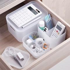 투명 서랍 수납함 화장대정리함 사무용품정리