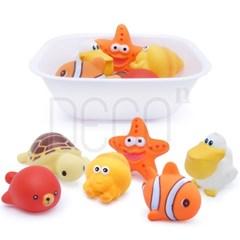 목욕놀이 바다친구들 물놀이 장난감