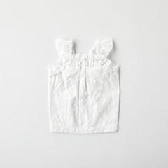 [모던하우스] 펫본 화이트 펀칭 레이스 원피스 L