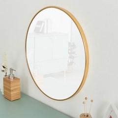 [스코나베이직]에디나 골드 원형 화장대 거울_(602881478)