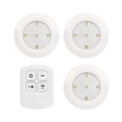 부착식 무선 LED 라이트 무드등 간접등 리모컨