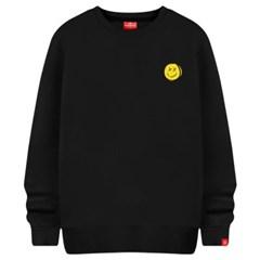 스마일얼굴 맨투맨 티셔츠 빅사이즈 남여공용