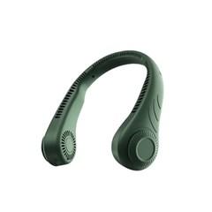 휴대용 무선 넥밴드 목에거는 360도 선풍기 목풍기 미니 목선풍기 넥