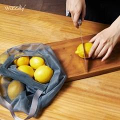 바실리 다용도 야채 보관 감자 마늘 양파 망 대형