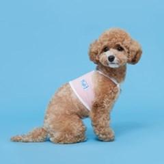 플로트 쿨링크롭탑 강아지옷 핑크