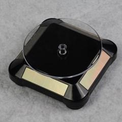 자동회전 무충전 솔라 턴테이블 전시 쇼케이스 태양광