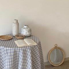 마고 빈티지 체크 테이블보 식탁보 홈카페 2 colors