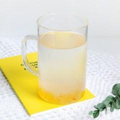 [1+1]클라체 하이 내열유리 머그 감성 홈카페 유리잔