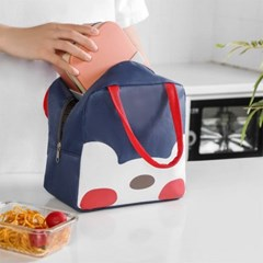 귀여운 일러스트 다용도 보냉 보온 가방