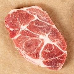 [산지발송] 제주도 흑돼지 앞다리살 구이용 1kg