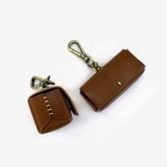 Leather Poop Bag Case