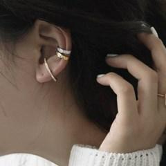 한쪽만 귀안뚫는 귀찌 이어커프 귀걸이