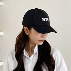 방수원단 캐주얼 NYC 자수 야구모자 볼캡 남자 여자 워_(490911)