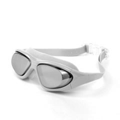 와이드뷰 자외선차단 UV차단 넓은고글 물안경(그레이)