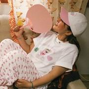 수바코 핑크스카웃 티셔츠