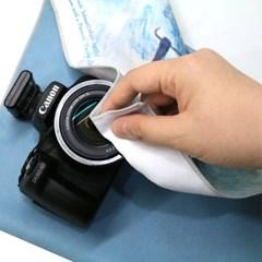 갤러리디엠 카메라 파우치 명화 DSLR파우치 초극세사 다용도파우치