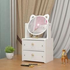 미니 서랍형 좌식 거울 화장대 만들기 DIY 공예 색칠 셀프 인테리어