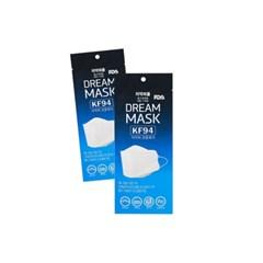 식약처인증 국산 KF94 마스크 보건용 대형 드림마스크