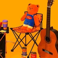 [위글위글] 캠핑의자(S) - Teddy Bear