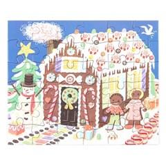 [이부] 진저브레드 하우스 36피스 미니퍼즐 3세이상