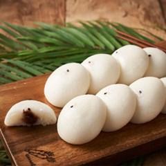 우리쌀로 만든 말랑쫀득 보름기정떡 백미+쑥 혼합 구성 33알 / 50알