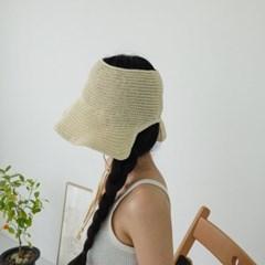 턱끈 지사 오픈 챙넓은 패션 보넷 버킷햇 벙거지 모자