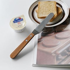 롬우드 나무핸들 버터나이프 잼나이프_(1945482)