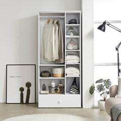 배치 스위트 오픈 드레스룸 800 수납 옷장