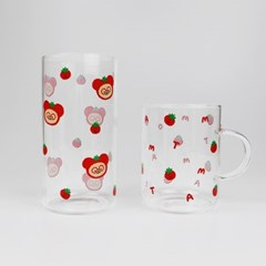 TOMATO GLASS CUP