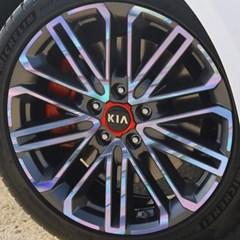 기아 올 뉴 K3 GT 18인치 휠 스티커/ 1세트