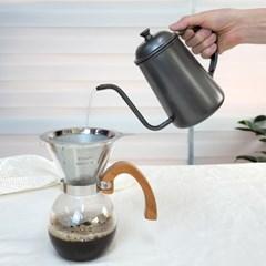 미르 테프론 드립포트 700ml 핸드드립주전자 커피용품