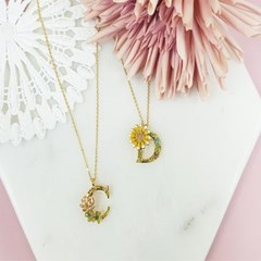 [ 올리아 ] 유럽 패션피플이 사랑하는 올리아 알파벳 목걸이 D