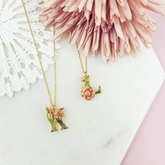 [ 올리아 ] 유럽 패션피플이 사랑하는 올리아 알파벳 목걸이 L