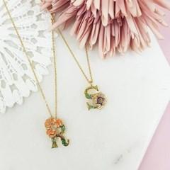 [ 올리아 ] 유럽 패션피플이 사랑하는 올리아 알파벳 목걸이 R