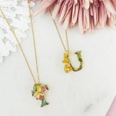[ 올리아 ] 유럽 패션피플이 사랑하는 올리아 알파벳 목걸이 T