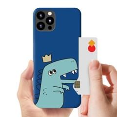 [T] 공룡커플 카드 하드 케이스