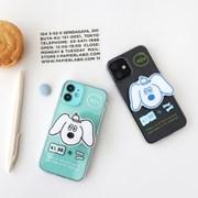 MonagustA 찰리 스마트톡 투명케이스 for iPhone 12 series